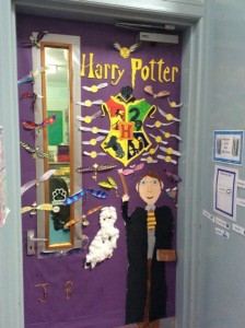 World Book Day Classroom Door Design Woodside Primary School